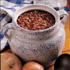 Maple Sausage Beans
