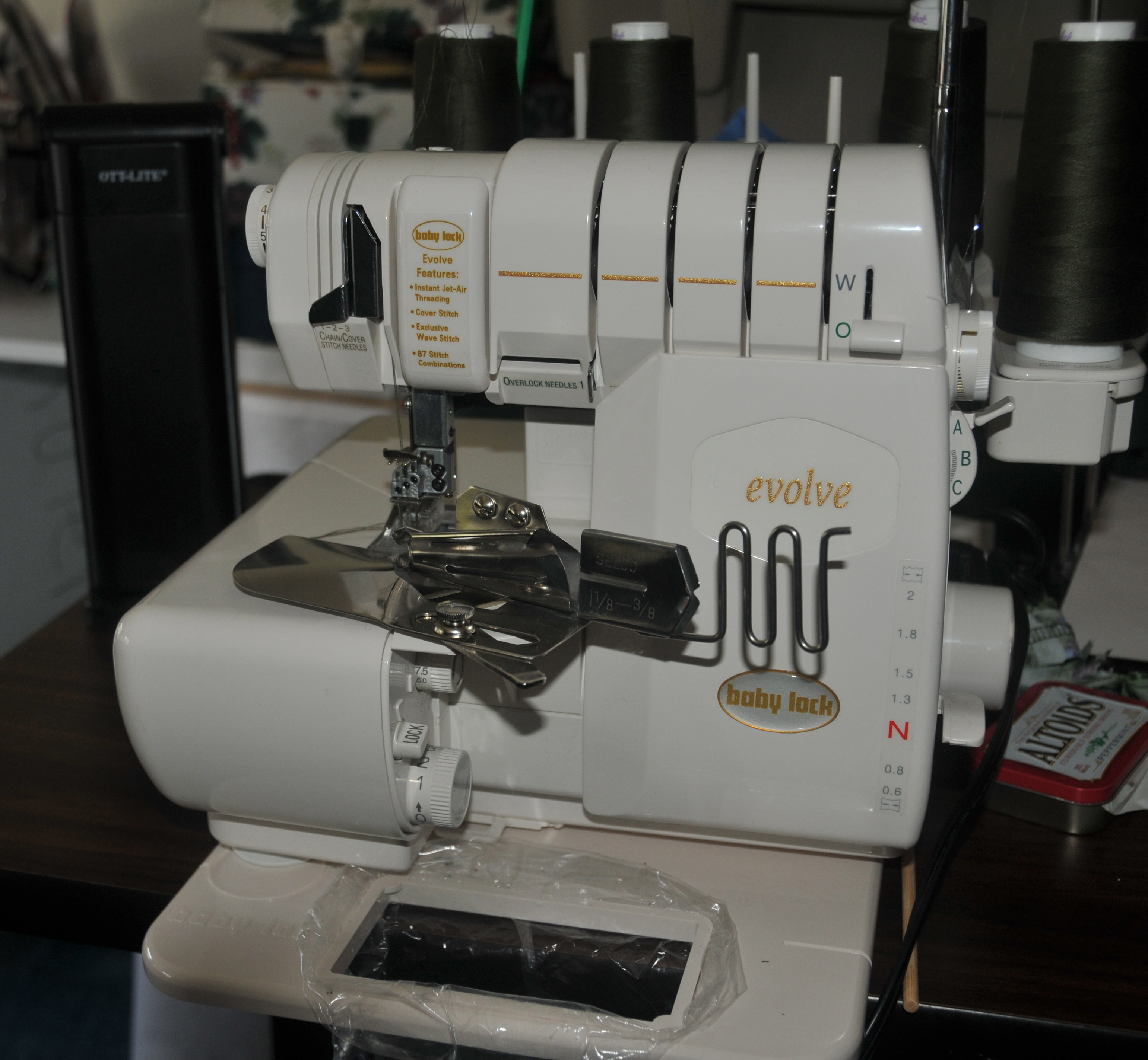 Cooking, Sewing, Machine Embroidery